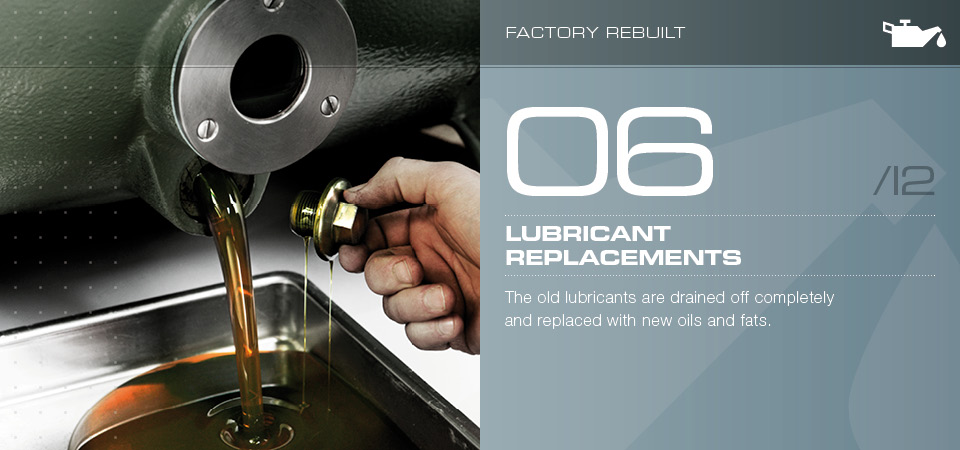 Lubricant replacements